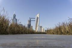 stad kuwait Arkivbilder