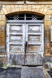 Stad LevoÄ  a - oude deur stock foto