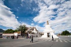Stad lhasa Arkivfoto