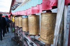 Stad lhasa Royaltyfri Foto