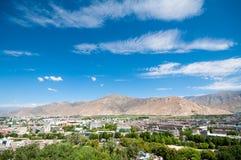 Stad lhasa Fotografering för Bildbyråer