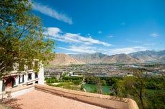 Stad lhasa Royaltyfri Bild