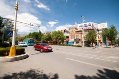 Stad lhasa Royaltyfri Fotografi