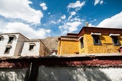 Stad lhasa Arkivfoton