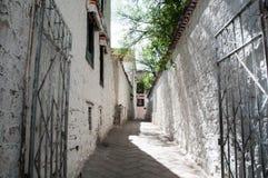 Stad lhasa Royaltyfria Bilder