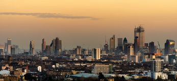 stad london arkivfoton