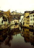 stad luxembourg Arkivfoton