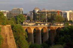stad luxembourg Arkivbilder