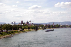 Stad Mainz Arkivfoton
