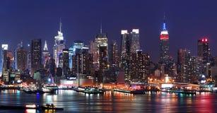 stad manhattan New York Royaltyfri Bild