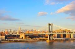 stad manhattan New York Fotografering för Bildbyråer