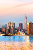 stad manhattan New York USA Royaltyfri Fotografi