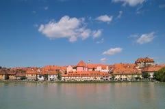 stad maribor slovenia Arkivbilder