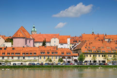 stad maribor slovenia Royaltyfri Fotografi