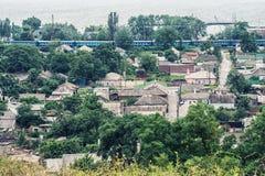 Stad Mariupol royalty-vrije stock afbeelding