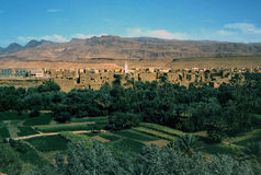 stad in Marokko Royalty-vrije Stock Afbeeldingen
