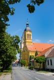 Stad Modra, Slowakije royalty-vrije stock afbeeldingen