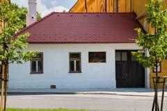 Stad Modra, Slowakije stock afbeeldingen