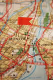 stad montreal arkivfoto
