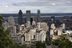 stad montreal arkivbild