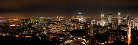 stad montreal arkivfoton