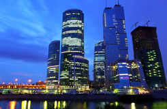 stad moscow Royaltyfri Fotografi