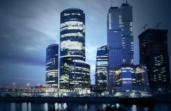 stad moscow Royaltyfria Foton