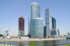 stad moscow Arkivfoton