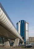 stad moscow för affärsmitt Royaltyfri Foto