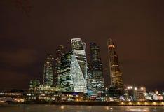 stad moscow russia international moscow för affärsmitt Fotografering för Bildbyråer
