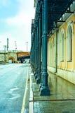 Stad Moskou De dijk van Sofia, de GOS-uitvoerend comité Rusland stock afbeeldingen