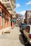 stad New York Arkivbild