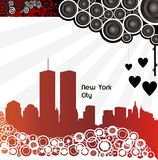 stad New York royaltyfri illustrationer