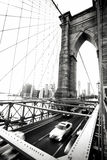 stad New York bro brooklyn Royaltyfria Foton