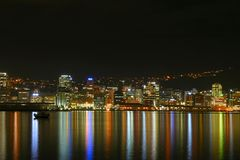 stad nya wellington zealand Royaltyfri Bild