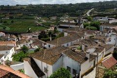 Stad Obidos, Portugal Royalty-vrije Stock Fotografie