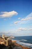 Stad på havet Arkivfoton