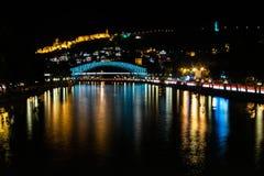 Stad på natten Royaltyfri Fotografi