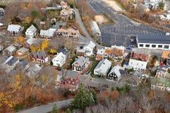 Stad på Provincetown, MOR Arkivbild