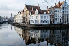 Stad på vattnet Arkivbild