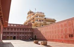 Stad Palace Jaipur Indien Royaltyfri Fotografi