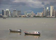 stad panama Royaltyfri Fotografi