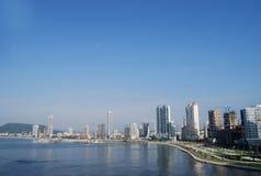 stad panama Royaltyfri Foto