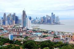 stad panama Arkivbilder