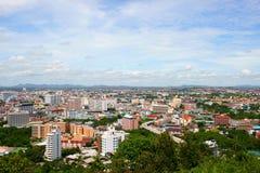 stad pattaya Fotografering för Bildbyråer