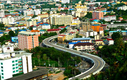 stad pattaya Royaltyfria Foton