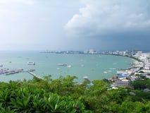 stad pattaya thailand Royaltyfri Fotografi