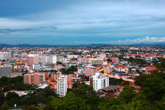 stad pattaya thailand Arkivfoton