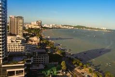 stad pattaya thailand Fotografering för Bildbyråer