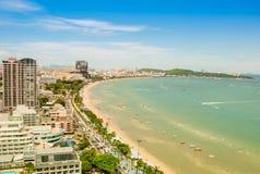 stad pattaya thailand Royaltyfri Bild